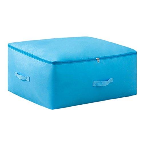 Gespout Kleidung Finishing Aufbewahrungsbox Faltbare mit Reißverschluss Jumbo Bag Lagerung Quilt Taschen Space Saver Taschen Bekleidung Aufbewahrungsboxen Quilts Aufbewahrungstasche