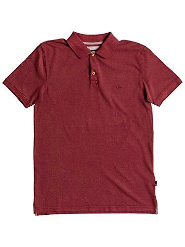 Herren T-Shirt Quiksilver Miz Kimitt T-Shirt Pomegranate