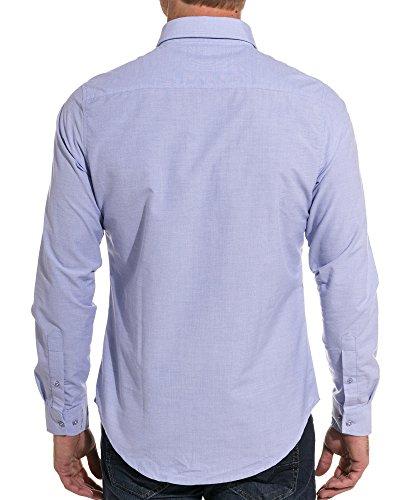 BLZ jeans - Chemise bleue design Bleu
