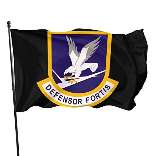not applicable Defensor Fortis Air Force 3 'X 5' Sicherheitsflaggen - Geeignet für Innen- und Außenbereiche Polyflaggen