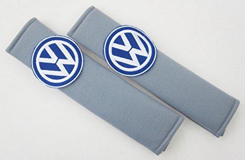 Price comparison product image VW Volkswagen I / Car Comfortable Seatbelt Harness Belt Shoulder Pads x 1 Pair (Grey)