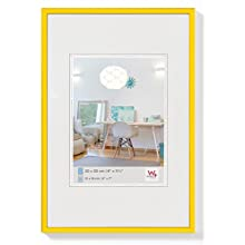 walther design KV130I New Lifestyle picture frame, 8.25 x 11.75 inch (21 x 29.7 cm), yellow