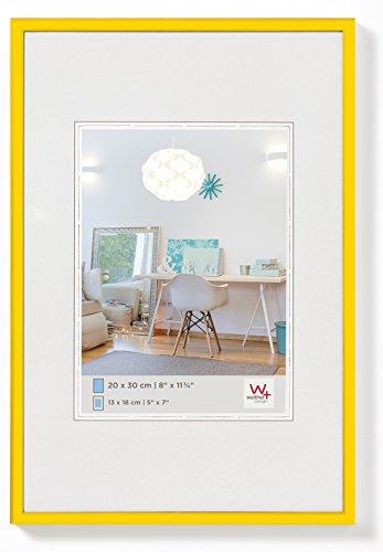 I New Lifestyle Kunststoffrahmen, 13 x 18 cm, gelb ()