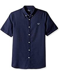 Fred Perry Men's Chequerboard Shirt