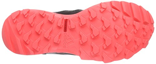 adidas Kanadia 7 Trail, Chaussures de trail femme Noir (Core Black/Core Black/Flash Red)