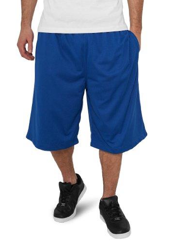Urban Classics BBall Mesh Shorts with Pockets, royal blue, M (Classic Shorts Royal Blue Mesh)