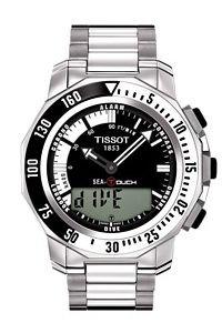 Orologio Tissot sea-touch uomo T0264201105101cinturino orologio da polso