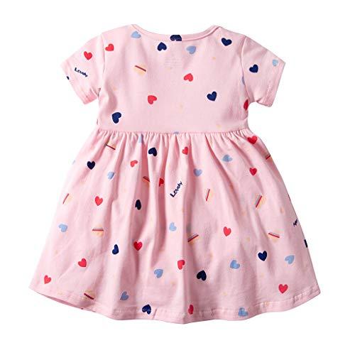 Yanhoo-Kinder Prinzessin Neugeborene Fotografie Props Baby-Kostüm-Ausstattung mit Blumen-Stirnband-Baby-Sommer-Kleid -