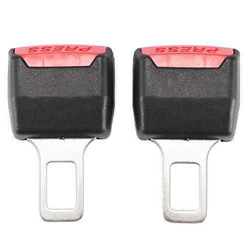 DEBEME Car Safety Belt Buckle Universal Car Styling Car Auto Safety Belts Clip Safety Belt Clip Buckle -Black