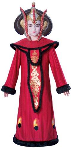 Star Wars Kostüm Königin Amidala für Kinder von 3 bis 4 Jahren (Königin Amidala Kostüm)