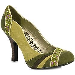 Ruby Shoo Heather Damen Schuhe Grün