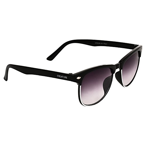 Creature Unisex UV Protected Polarized Wayfarer Sunglasses||PNF-003||VIOLET||
