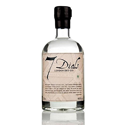 7 Dials London Dry Gin 70 cl - (Packung mit 6)