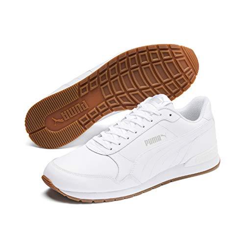 PUMA Unisex-Erwachsene St Runner V2 Full L Sneaker,Weiß(Puma White-Gray Violet 09),43 EU(9)