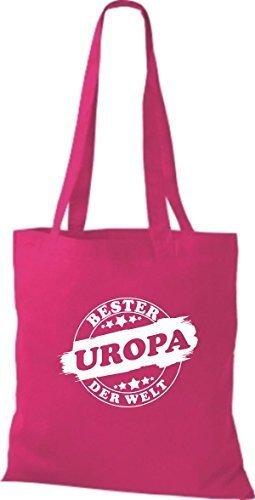 Borsa In Cotone Tinta Unita In Cotone Borsa Migliore In Europa Del Mondo Rosa
