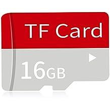 Hanbaili Paquete de adaptador de tarjeta de memoria Micro SD SDXC de 16GB Plus (Clase 10) Flash de alta velocidad MicroSDXC 4K Flash para teléfono celular, Tablet PC, GPS, Drone, cámara