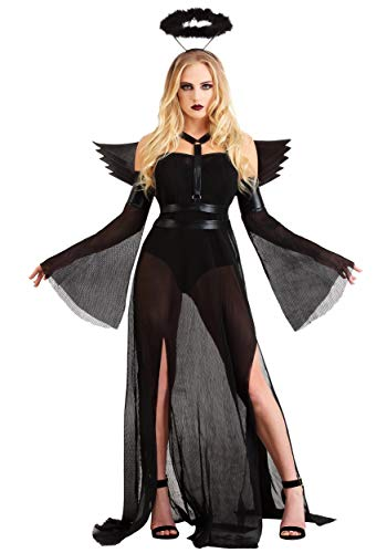 Angels Kostüm Fallen Dress Fancy - Fallen Angel Fancy Dress Costume Women's Small