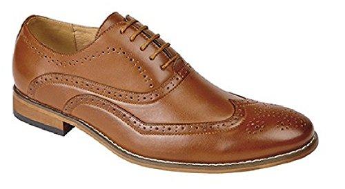GOOR 5 œillets pour Oxford Chaussures richelieu Noir - Brun