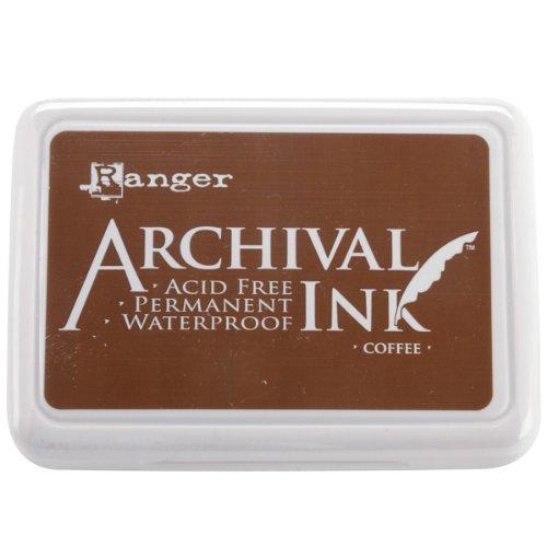Ranger Kaffee Archivierung Ink Pad, braun -