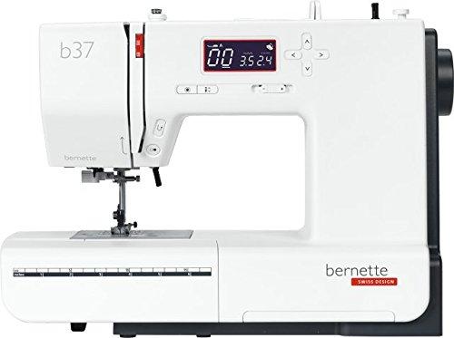 Bernette 37, computergesteuerte Nutzstich Zierstich Quiltstich Nähmaschine mit großem Leistungsumfang und überzeugender Stichqualität von Bernina