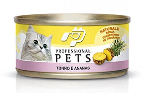 umido per gatti 24 scatolette tonno con ananas