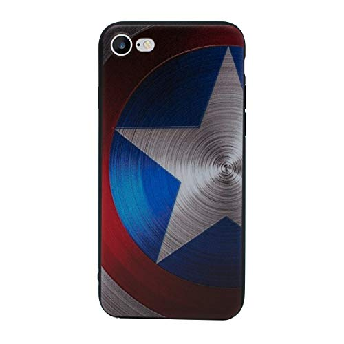 iPhone 8 Plus 3D Marvel Silikonhülle / Gel Hülle für Apple iPhone 8 Plus (5.5