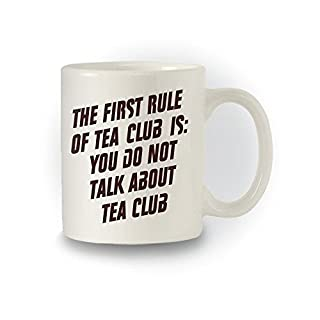Fight Club inspiriert 'The ersten Artikel der Club'Joke Tasse Tee