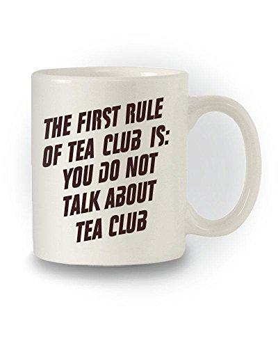 Fight Club inspiriert 'The ersten Artikel der Club'Joke Tasse Tee Kitchen Club