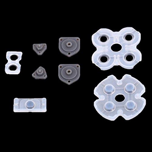 Unterbrechen Gummi ableitfähige Klebepad Ersatzteile für PS4Controller Schminkpinsel-Set