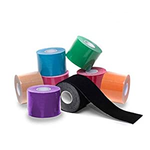More Mile Kinesiology Sports Tape – 3M – Black