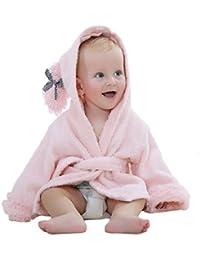 DINGANG® Bebé con capucha albornoz y toalla, 0–12meses, albornoz bebé ducha regalo