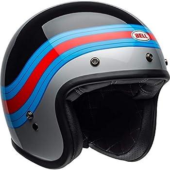 Bell Helm Custom 500 Dlx Pulse schwarz//blau//rot Gr/ö/ße L