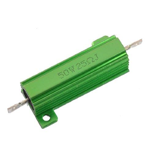 Preisvergleich Produktbild Sourcingmap a12050500ux0030Aluminium Fall 50W Watt 25Ohm Chassis montiert Wirewound Widerstand–Grün (1)
