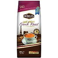 Minges Café Crème French Roast, tutta fagioli, aroma Soft Pack, 1.000g, 1er Pack (1x 1kg)