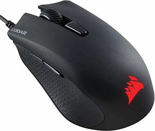Corsair ARPÓN RGB Juego del ratón óptico (luz de Fondo LED RGB, 6000 dpi) Negro