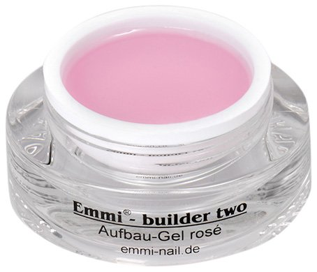 Emmi-Nail Studioline Aufbau-Gel rosé: UV-Gel für eine Nagelmodellage in edler Naturoptik, mittelviskos, hervorragende Hafteigenschaften, 15 ml (Gel Builder Uv)