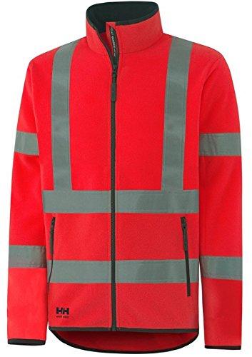 Preisvergleich Produktbild Helly Hansen Workwear Warnschutz Fleece-Jacke Boden Fleece CL3 Arbeitsjacke mit HellyTech 169 XL, rot, 72368
