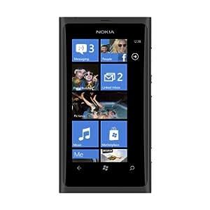 Nokia Lumia 800 Sim-free Windows Smartphone 16GB - Matte Black