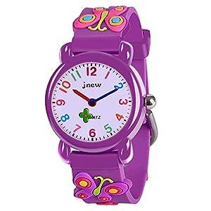 EUTOYZ Niedliche Cartoon wasserdichte Uhr für Kinder