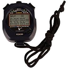 Ckeyin ® Cronometro per Squadre Sportive Professtional, Display a 3 Righe, Memoria di 30 Tempi