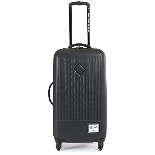 Travel Valise, 46 cm, 60 L, Noir