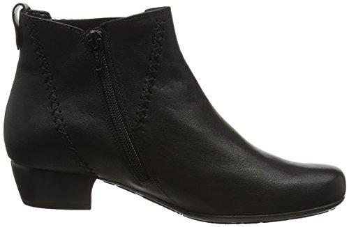 Gabor Comfort Basic, Bottes Classiques Femme Noir (Schwarz Micro)