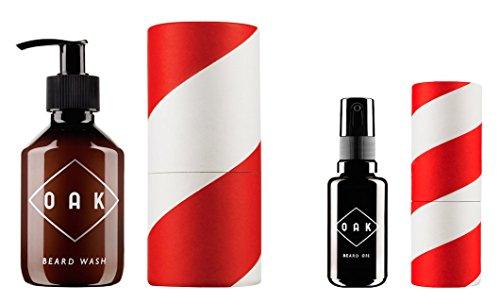 OAK Bartpflege Set (OAK Wash + Oil)