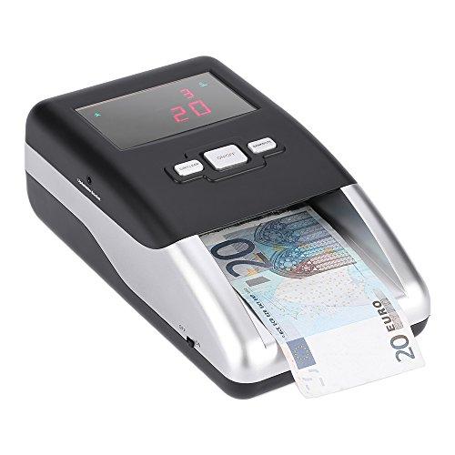 Anself Banconote Rivelatore Portatile Banconote False Detection Macchina per Euro LED Display