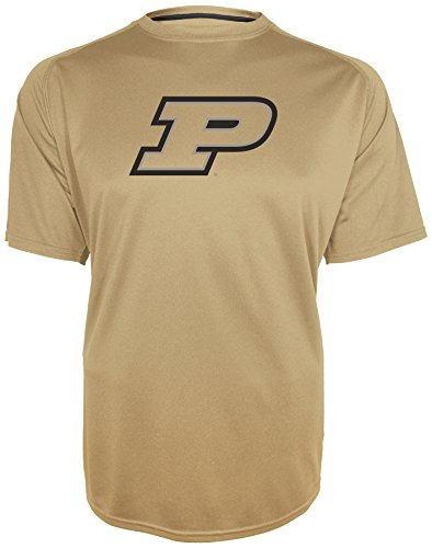 Champion NCAA Training 2 Game Day B.M.O.C. Raglan-T-Shirt mit Rundhalsausschnitt, Herren, Grün (Vegas Gold), Small -