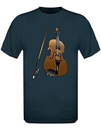 Geige Realistisch T-Shirt by Shirtcity