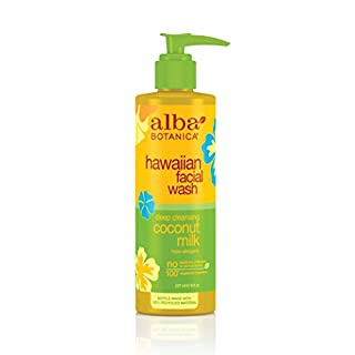 Alba Botanica Hawaiian Nourishing Face Wash, Coconut Milk, 8 oz