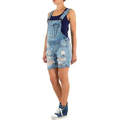 Ital-Design -  Pantaloncini  - Donna Blu