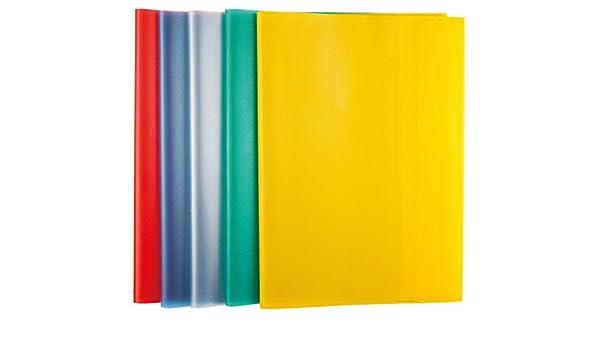 10x Herlitz 50009084 Aktenhülle A4 Pyramide 10 Stück farbig sortiert