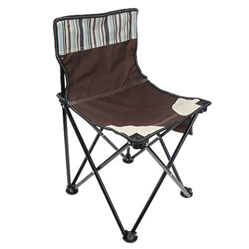 Baoblaze Klappbarer Campingstuhl Ultraleicht Faltbarer Strandstuhl Outdoor Stuhl, max.140 kg für...